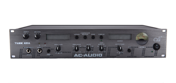 ac-audio tube g51是一款采用了电子管技术的话筒前置放大器和压缩器